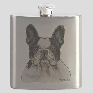 FrenchBulldog Flask
