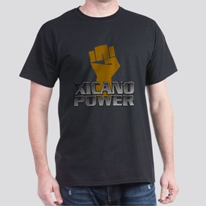 Xicano Power Fist Dark T-Shirt