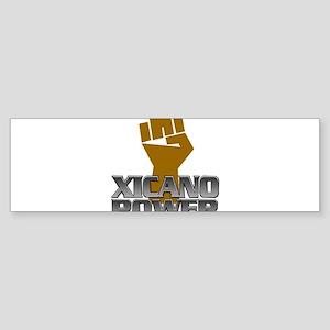 Xicano Power Fist Bumper Sticker