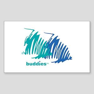 buddies Rectangle Sticker