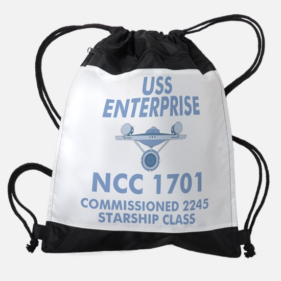 Star Trek Enterprise Drawstring Bag