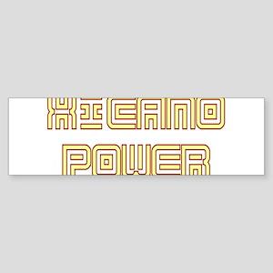 Xicano Power Undercover Bumper Sticker