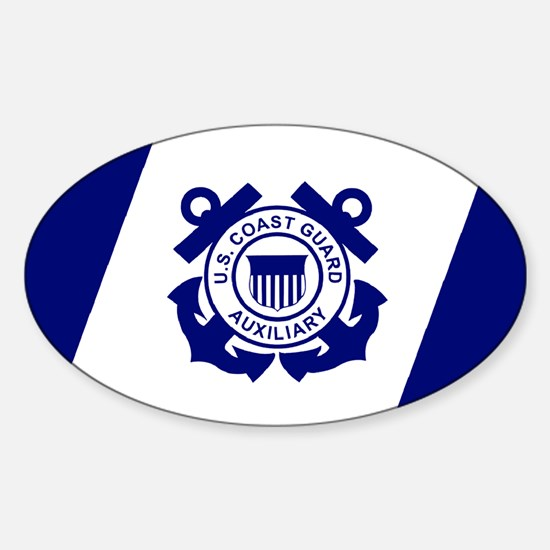 USCGAux-Flag-Decal Decal