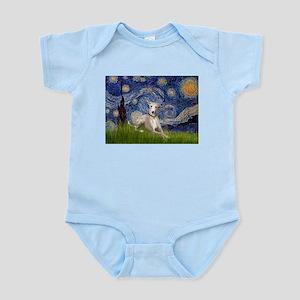 Starry Night Whippet Infant Bodysuit