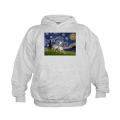 Starry Night Whippet Hoodie