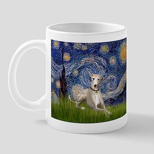 Starry Night Whippet Mug