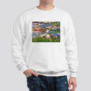 Lilies & Whippet Sweatshirt