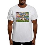 Lilies & Whippet Light T-Shirt