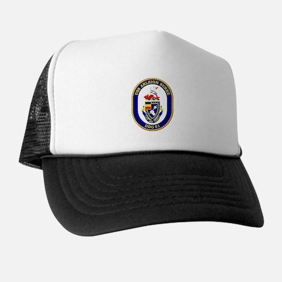 USS Arleigh Burke DDG-51 Trucker Hat