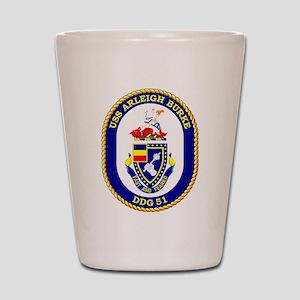 USS Arleigh Burke DDG-51 Shot Glass