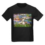 Lilies & Whippet Kids Dark T-Shirt