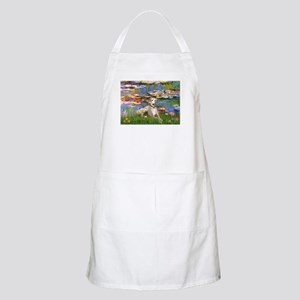 Lilies & Whippet Apron