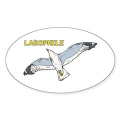 Larophile Sticker (Oval)