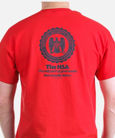 NSA Watch List T-Shirt