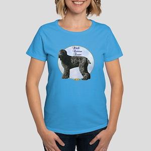 Black Russian Portrait Women's Dark T-Shirt