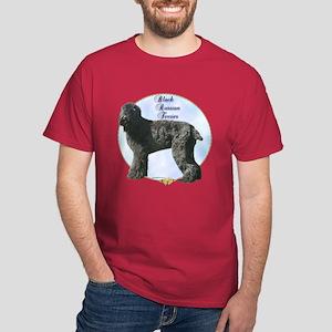 Black Russian Portrait Dark T-Shirt