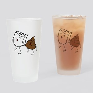 BFFs Drinking Glass