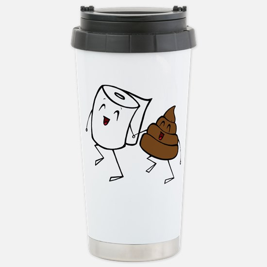 BFFs Stainless Steel Travel Mug