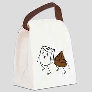 BFFs Canvas Lunch Bag