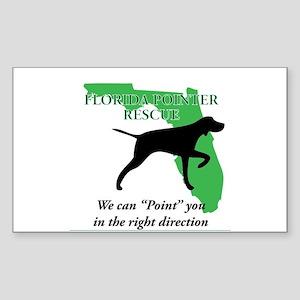 Florida Pointer Rescue Sticker