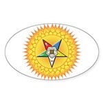 OES In the Sun Sticker (Oval)