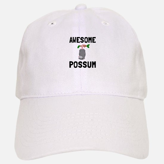 Awesome Possum Baseball Baseball Baseball Cap