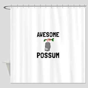 Awesome Possum Shower Curtain
