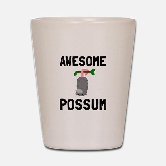 Awesome Possum Shot Glass