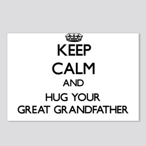 Keep Calm and Hug your Great Grandfather Postcards