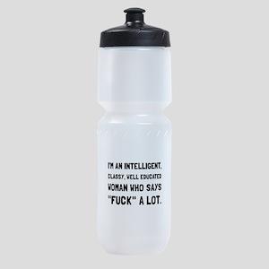 Classy Woman Sports Bottle