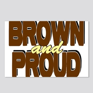 Brown and Proud Postcards (Package of 8)