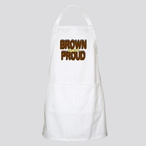 Brown and Proud BBQ Apron