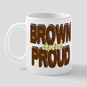 Brown and Proud Mug