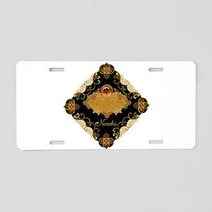 Scorpio Aluminum License Plate