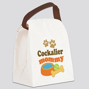 Cockalier mom Canvas Lunch Bag