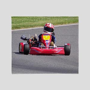 Kart Racer Throw Blanket