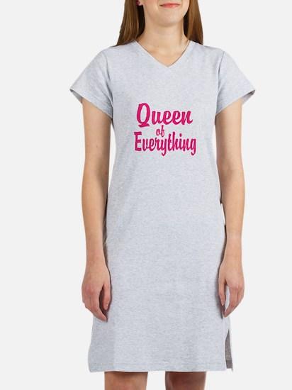 Queen of everything Women's Nightshirt