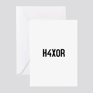 H4X0R Greeting Cards (Pk of 10)
