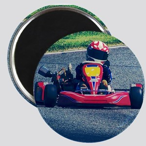 Kart Racer Old Photo Style Magnets