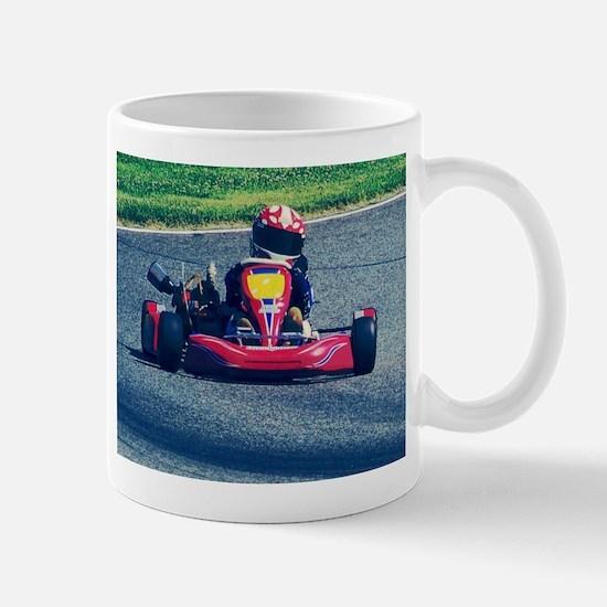 Kart Racer Old Photo Style Mugs