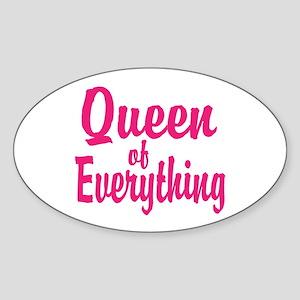 Queen of everything Sticker