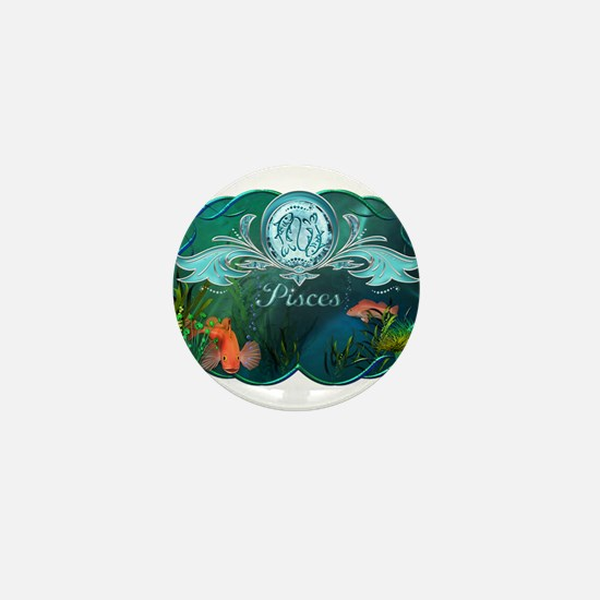 Pisces Mini Button