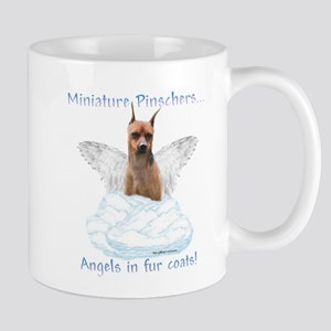Min Pin Angel Mug