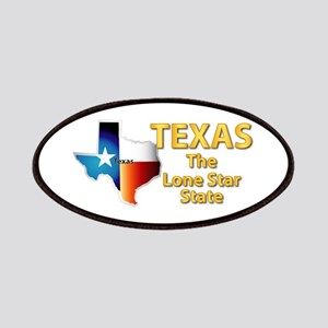 State - Texas - Lone Star State Patches