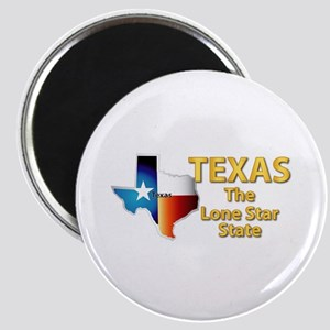 State - Texas - Lone Star State Magnet