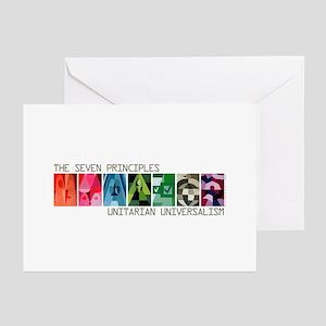 Greeting Cards (Pk of 10) - 7 UU Principles (Gen.)