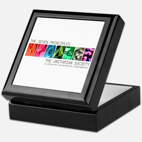 Keepsake Box - Seven UU Principles