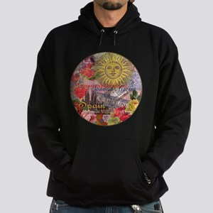 Spain Vintage Trendy Spain Travel Collage Hoodie