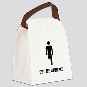 Got Me Stumped Canvas Lunch Bag