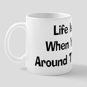 Plow Around The Stump Mug